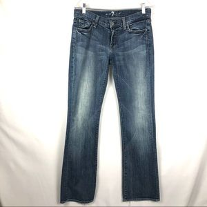 7 for all mankind Bootcut Jeans Mid-Rise